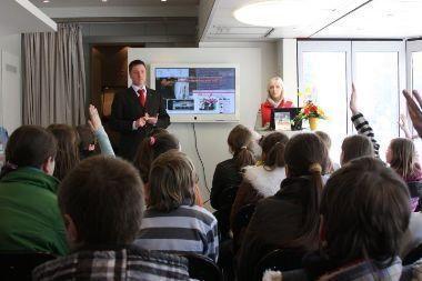 Saugesnio interneto akademija Vilniuje baigė turą per Lietuvą