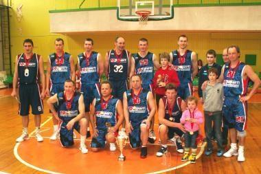 """""""TopSport-Arx Baltica"""" krepšininkai - čempionai"""