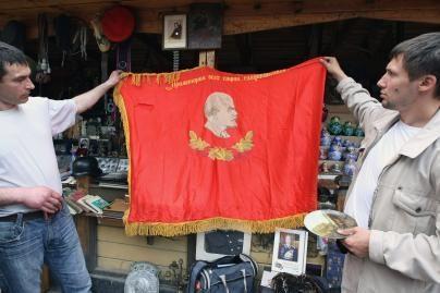 Už sovietinius simbolius - bauda