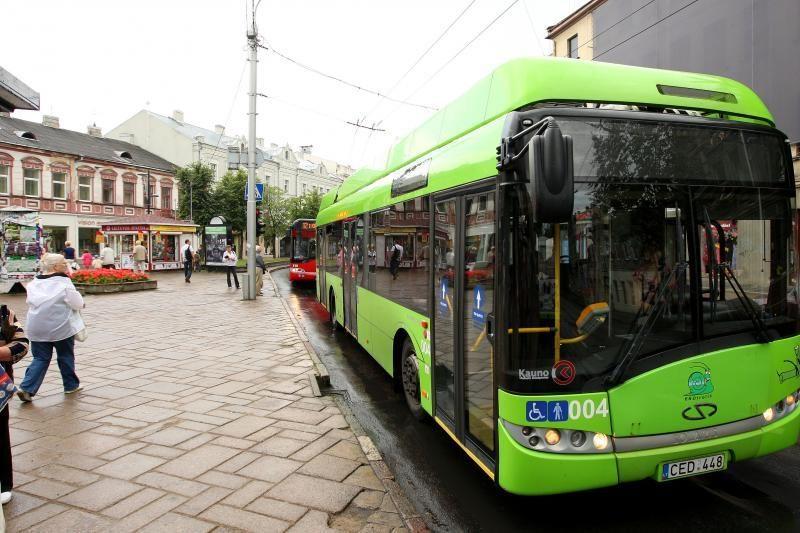 Kauno autobusų parkui – ekologiški autobusai