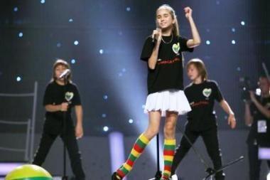 Vaikų Eurovizijoje Lietuvos atstovė užėmė trečiąją vietą (video)