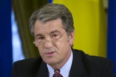 Ukrainos prezidentui gresia nemalonumai