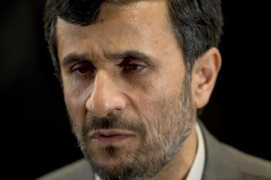 Irano prezidentas Ahmadinejadas suabejojo dėl rugsėjo 11-osios atakų organizatorių