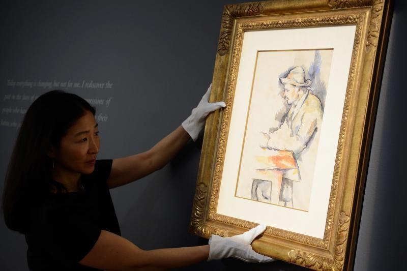 JAV aukcione parduota reta Paulio Cezanne'o akvarelė
