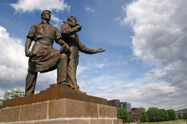 V.Navickas Maskvoje apie skulptūras nekalbės