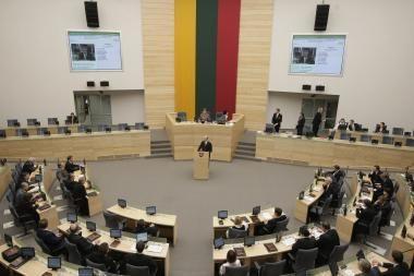 Ruduo – svarbių sprendimų metas Seime