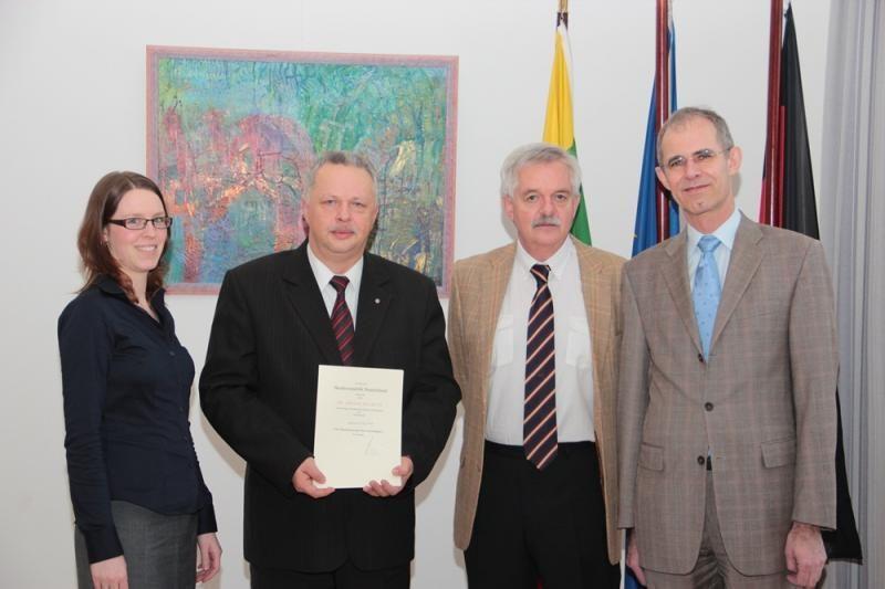 Klaipėdos universiteto docentas paskirtas garbės konsulu