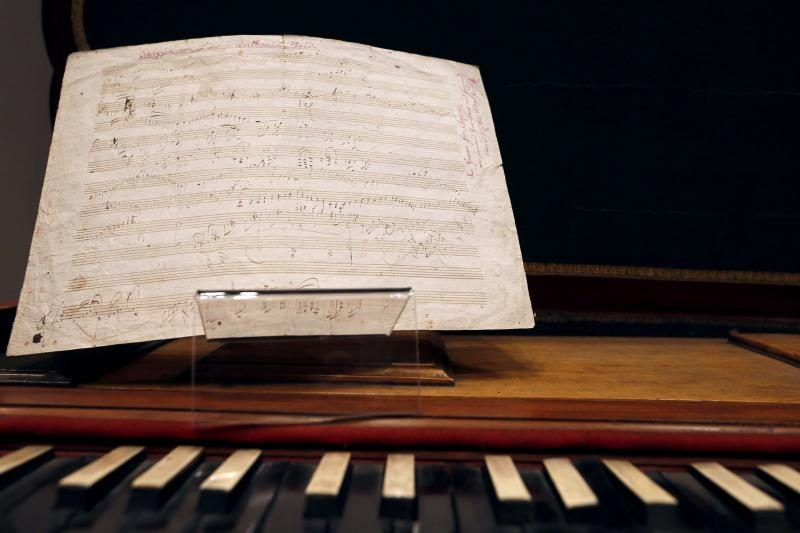Beethoveno partitūra Paryžiuje parduota už beveik 253 tūkst. eurų