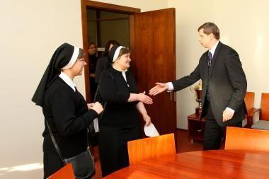 Pažaislio vienuolynas prašo savivaldybės paramos