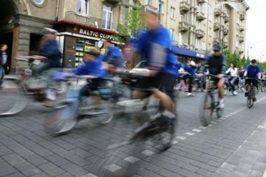 Europos dieną Vilniuje - dviračių žygis nuo Seimo iki Verkių rūmų (programa)