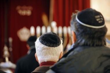 Prancūzijoje - išpuoliai prieš sinagogas
