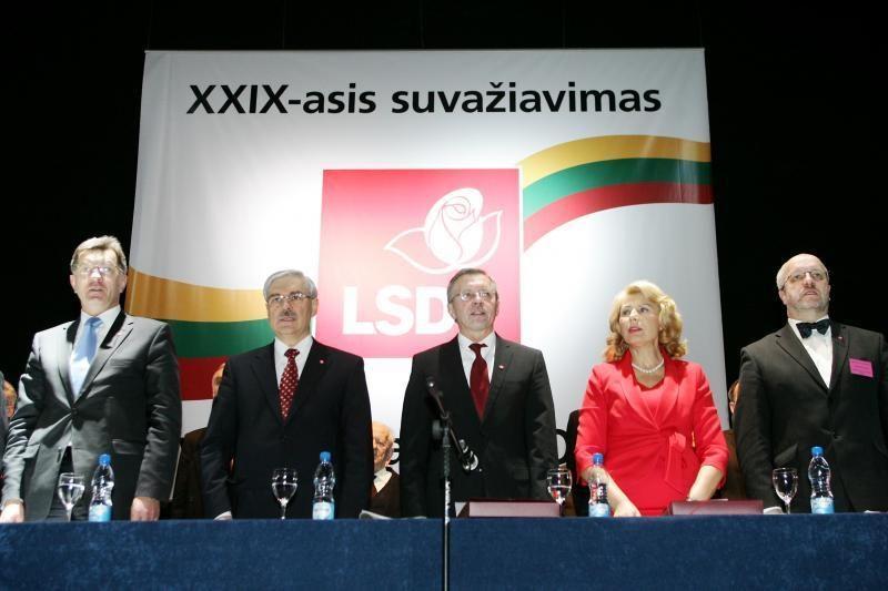 Socialdemokratų partijos pirmininko rinkimai - be konkurencijos