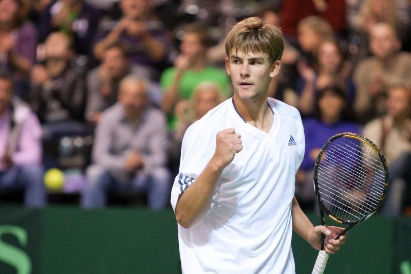 L. Grigelis pergale pradėjo ITF serijos teniso turnyrą Italijoje