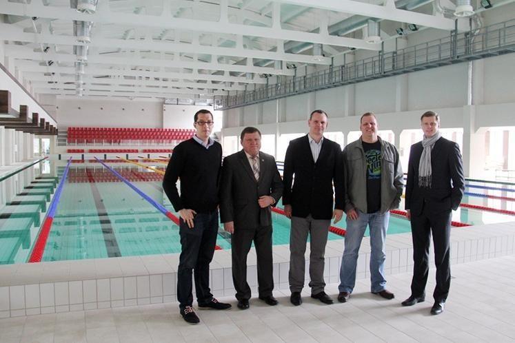 """R. Meilutytės trenerį sužavėjo """"Girstučio"""" plaukimo kompleksas"""