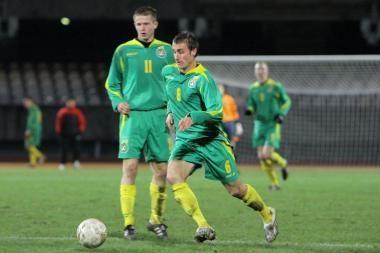 Jaunimo futbolo rinktinė ruošis akistatai su portugalais