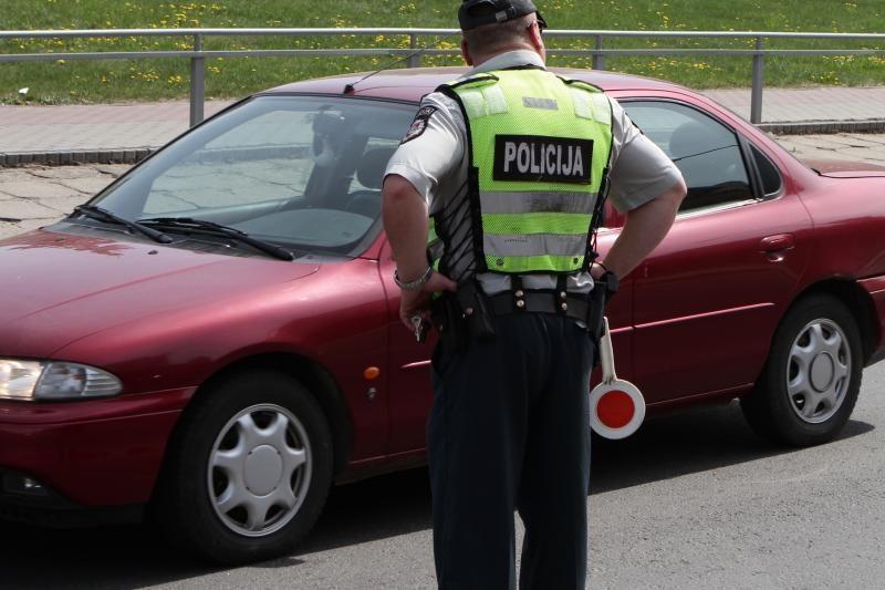 Vilniuje susidūrė šeši automobiliai, bet žmonės nenukentėjo