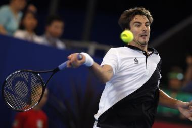 Ispanijos tenisininkai - Hopmano taurės turnyro Australijoje finale