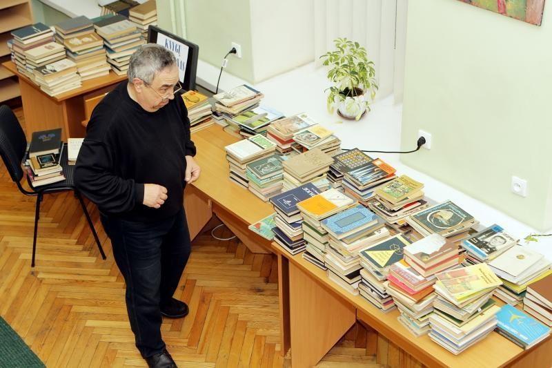 Senoms knygoms – naujas šansas  aukcione