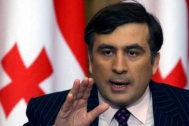 M.Saakašvilis: Gruzija tikisi taikiai išspręsti ginčą su Rusija