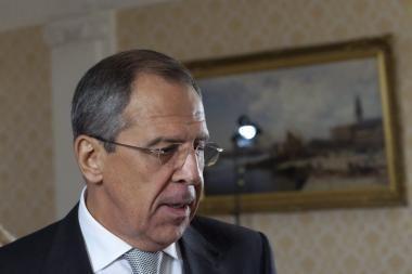 S.Lavrovas: ESBO narės pradeda suvokti permainų Europos politikoje būtinybę