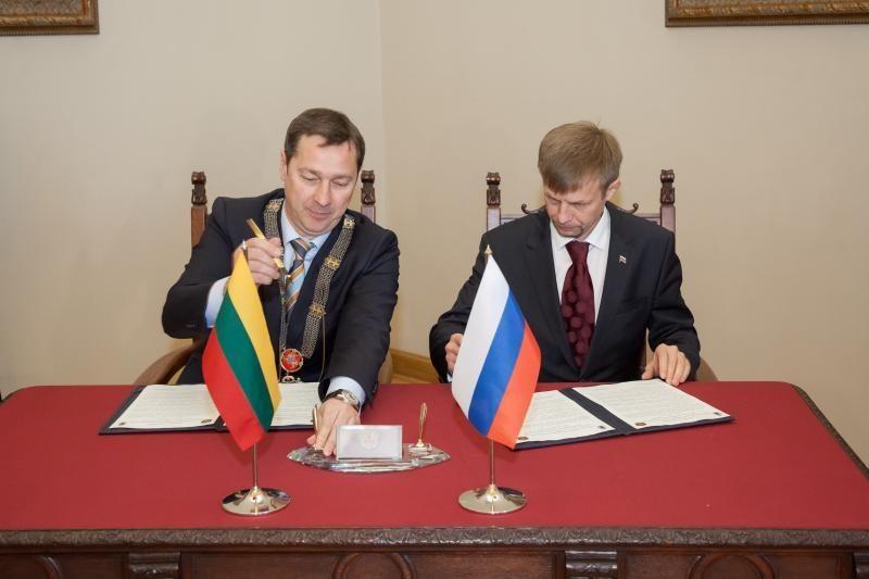 """Vilnius """"susidraugavo"""" su    Jaroslavliu"""