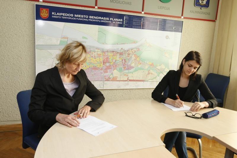 Klaipėdietė išlaikė Konstitucijos egzaminą