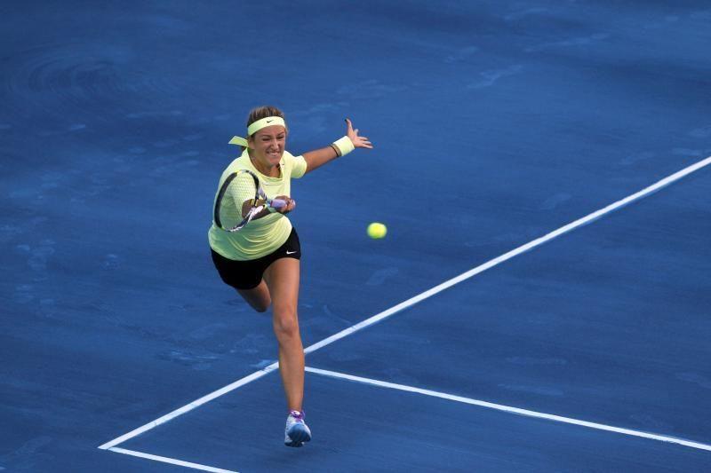 Aštuntfinalyje V.Azarenka triumfavo prieš A.Ivanovič