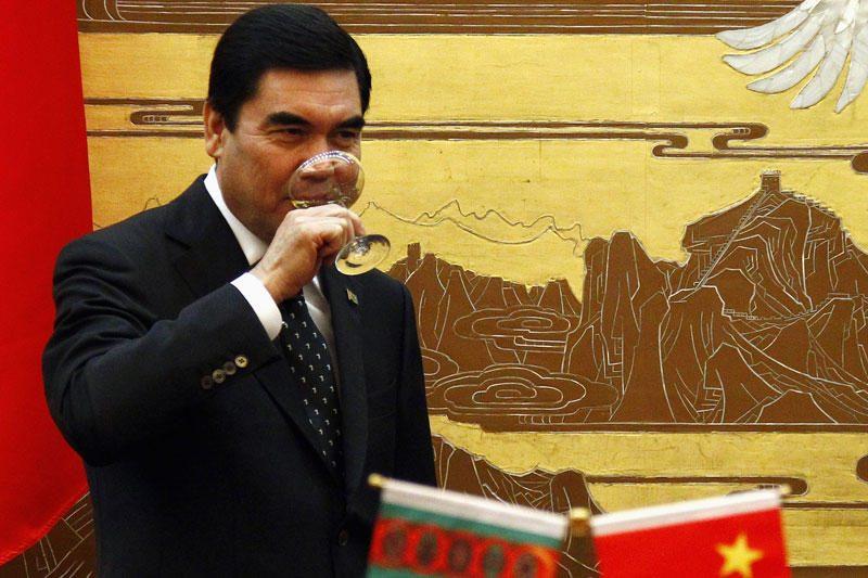 Turkmėnistano autoritarinis lyderis perrinktas 97,14 proc. balsų