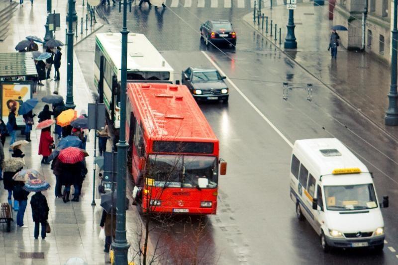 Vilniuje neliks populiarių mikriukų maršrutų