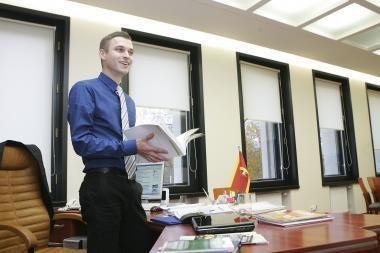 Naujas Kauno meras nori griežto valdymo (papildyta)