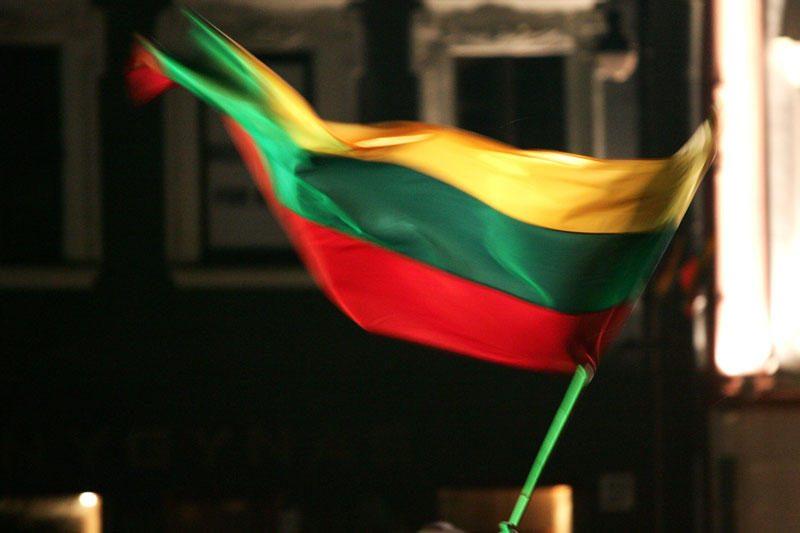 Olimpiečiams - Lietuvos žmonių vardais išausta valstybės vėliava