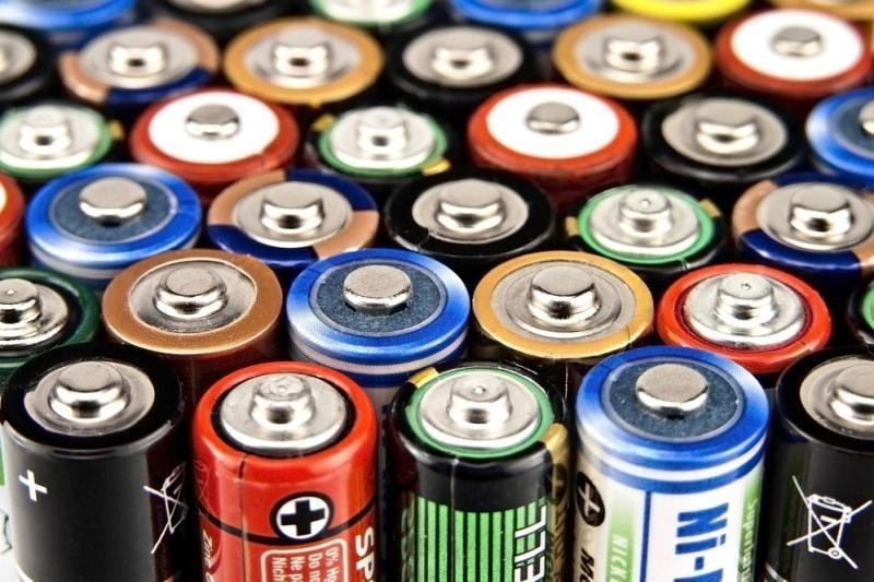 Panaudotos baterijos bus superkamos po 2 litus už kilogramą