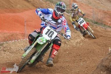 Europos motociklų kroso čempionate - V.Bučo sėkmė
