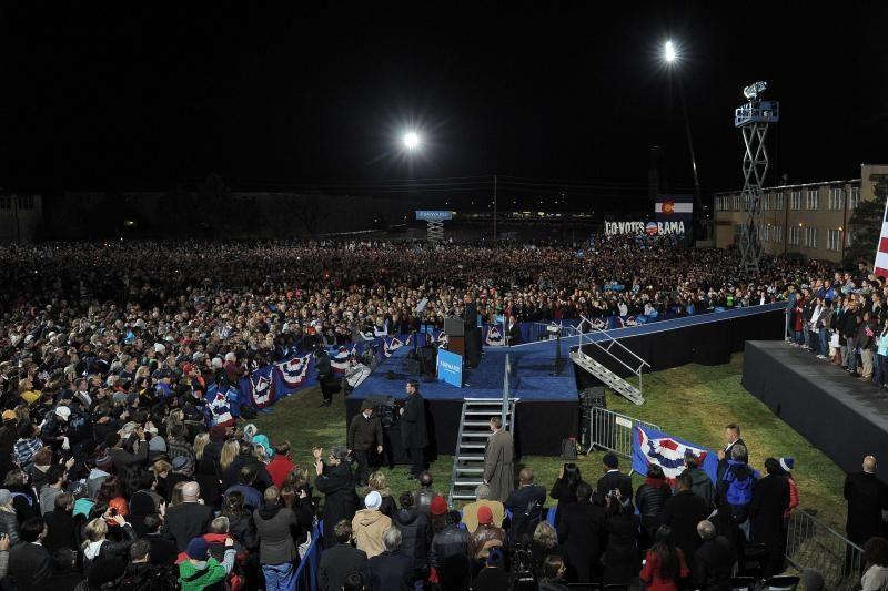 """JAV prezidento rinkimų išvakarės: paskutinis kandidatų """"pasispardymas"""""""
