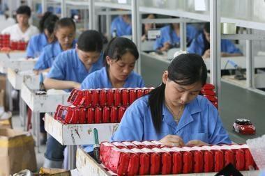 Tyrimas: Kinijos pramonės plėtra lėtėja