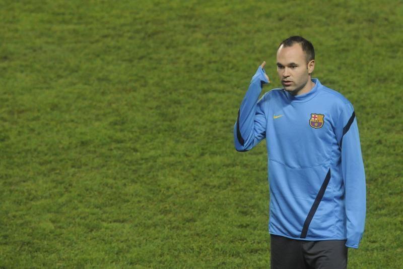 """A.Iniesta mano, kad treneris yra svarbiausia """"Barcos"""" dalis"""