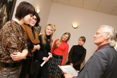 Klaipėdos universitetui perduoti studentų surinkti pinigai