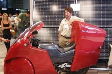 Saulės motociklas