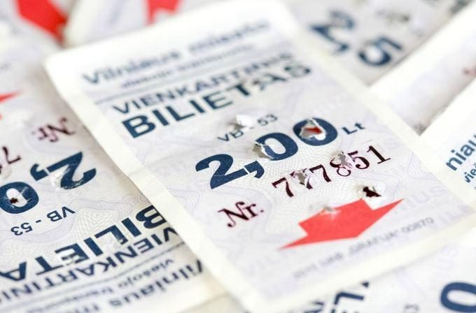 Vilniuje nebebus galima įsigyti popierinių bilietų
