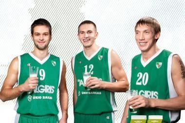 """Vilkyškių pieninė ir toliau rems Kauno """"Žalgirį"""""""