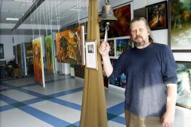 Žaibuojantis tapytojo bliuzas – Klaipėdos Rūtų galerijoje