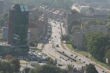 Triukšmo lygis Klaipėdoje nemažėja