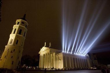Vilniaus Katedrai labiausiai kenkia šaltis