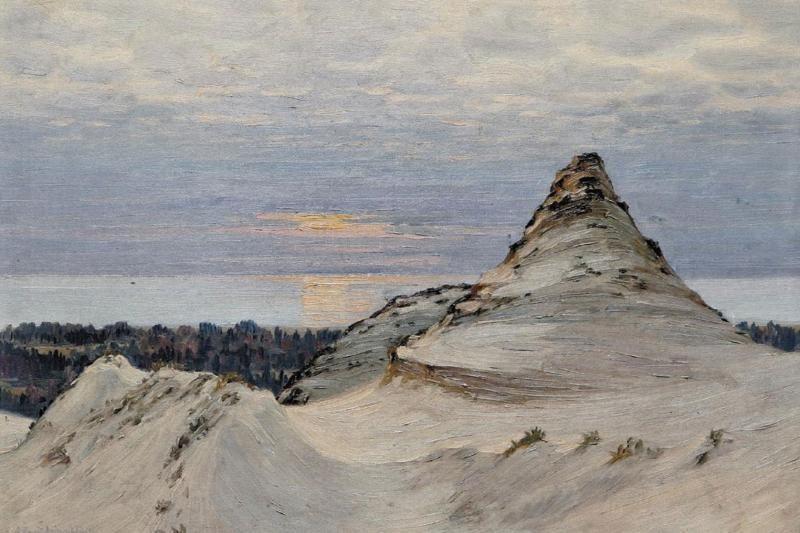 Tapybos darbų parodoje žiūrovus užburs pajūrio peizažai