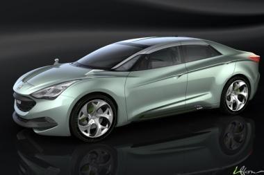 """""""i-flow"""" – vos 1 iš 8 """"Hyundai"""" debiutantų Ženevoje"""