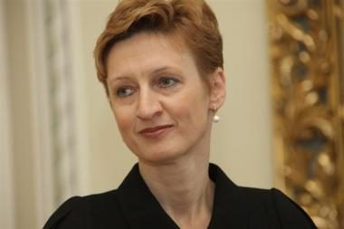 Prezidentė Seimui teikia G.Švedienės kandidatūrą į valstybės kontrolieres