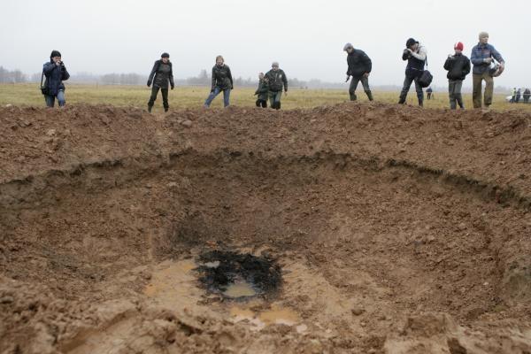 Latvijos meteoritas - tik apgaulė (papildyta)