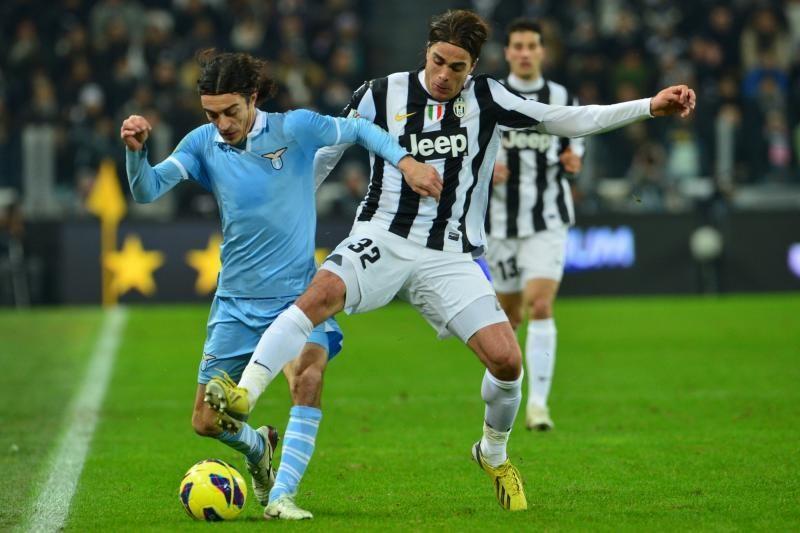 """Italijos taurės pusfinalyje """"Lazio"""" išplėšė lygiąsias prieš """"Juventus"""""""