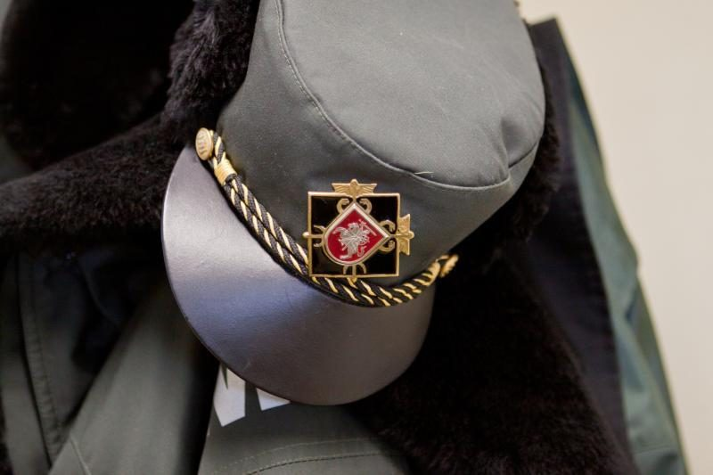 Sučiuptas sieną kirtęs vyras, prisistatęs Baltarusijos piliečiu