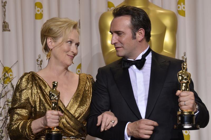 """Geriausios aktorės """"Oskaras"""" atiteko Meryl Streep"""
